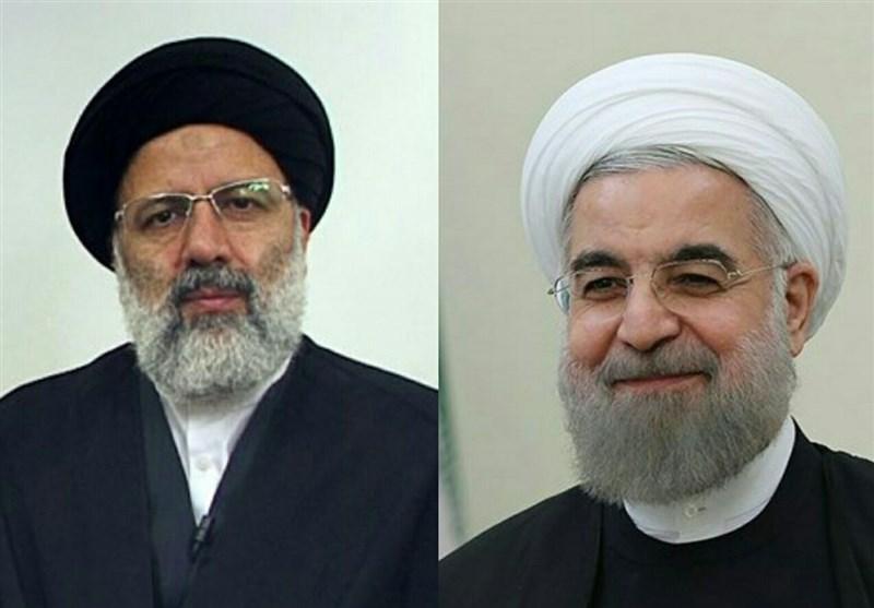 نامه کوتاه رییسی به روحانی:من و تو حقوقدانیم
