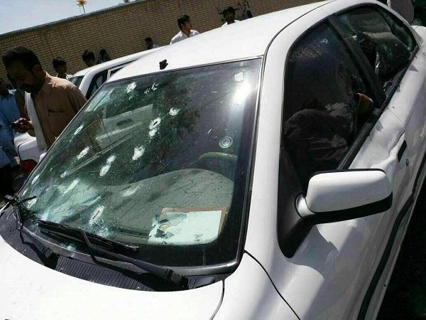 شلیک مرگ به یک عضو شورا درایرانشهر