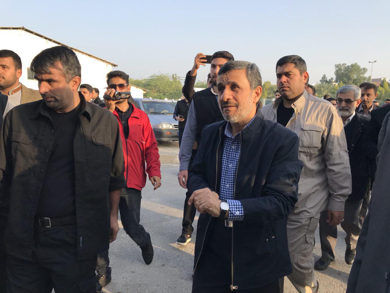 اولین واکنش احمدی نژاد به سخنان رهبر جمهوری اسلامی