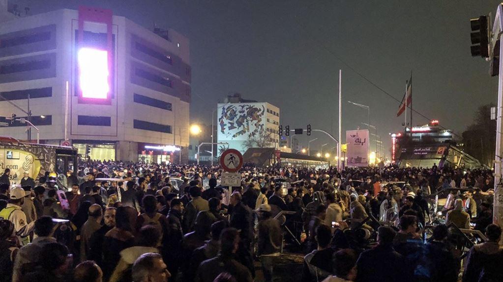بازداشت حداقل ۱۷۰۰ نفر در تجمعات اخیر
