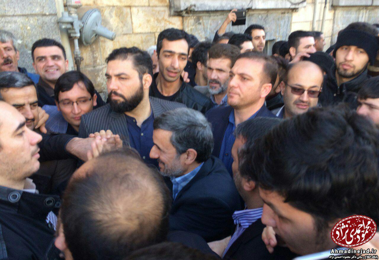 احمدی نژاد:به محض اعتراض افراد را دستگیر می کنند و جنازه تحویل می دهند