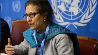 عاصمه جهانگیر گزارشگر ویژه حقوق بشر ایران درگذشت