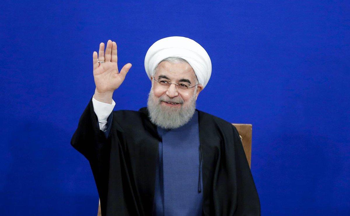 #حامی_روحانی_ام  ترند جهانی شد