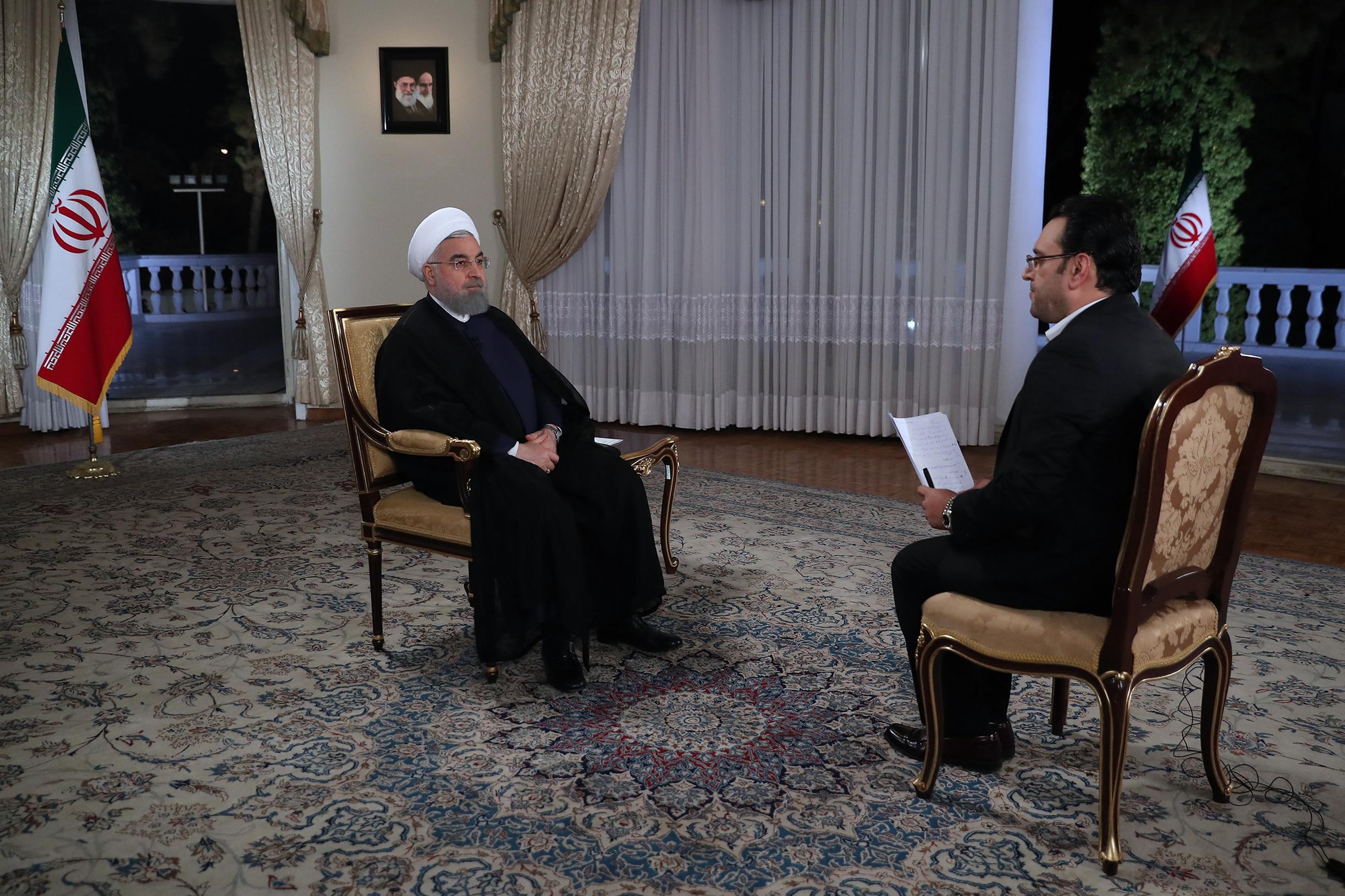 مصاحبه روحانی،نمادی از دور دوم ریاست جمهوری