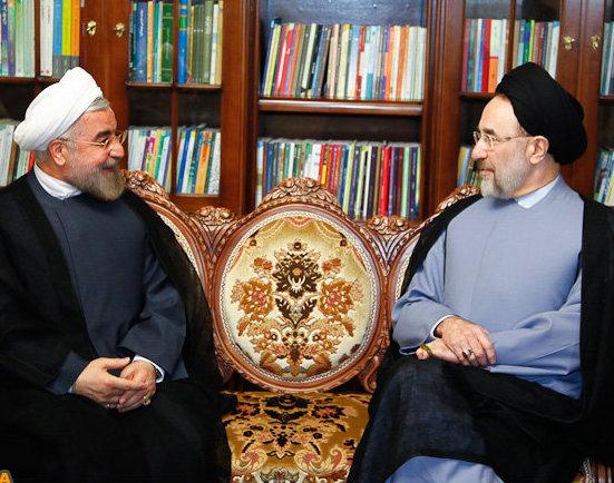 درخواست خاتمی از روحانی: دستور خروج مامورانتان را صادر کنید