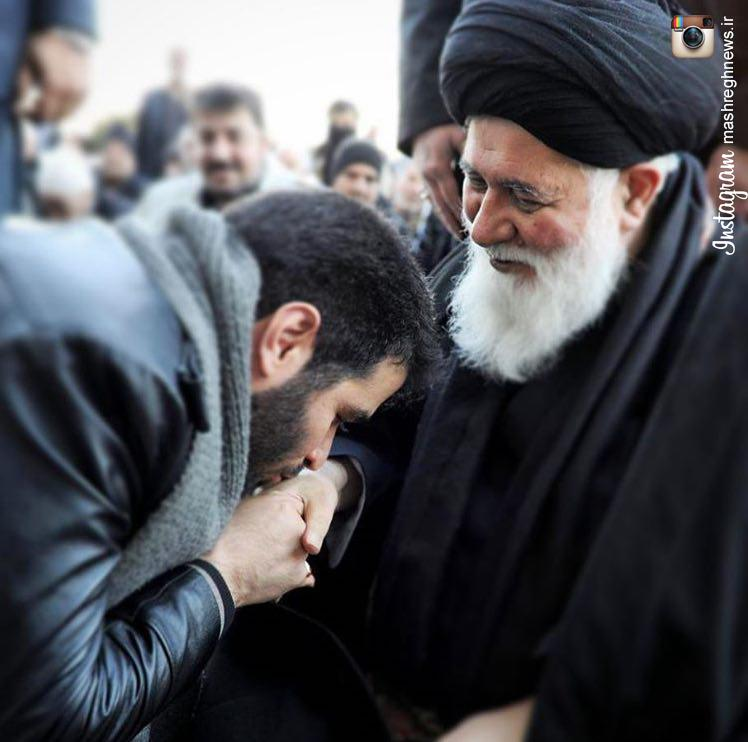 مداح حمله کننده به  روحانی ،عضو ستاد رئیسی