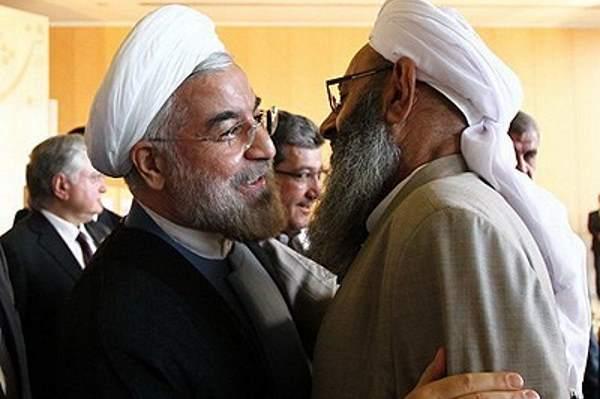حمایت مولوی عبدالحمید و شورای راهبردی اهل سنت از روحانی