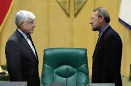 نشست مشترک روسای فراکسیون های مجلس با لاریجانی