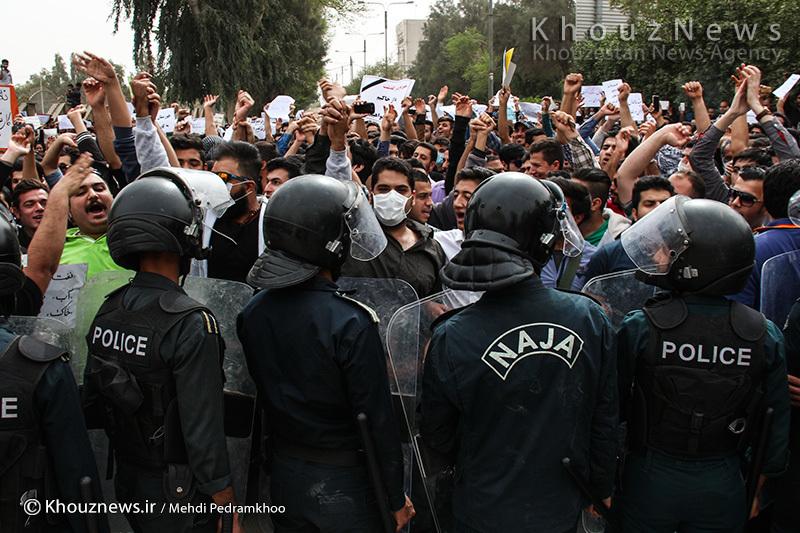 بازداشت ۱۶۰ نفر در خوزستان