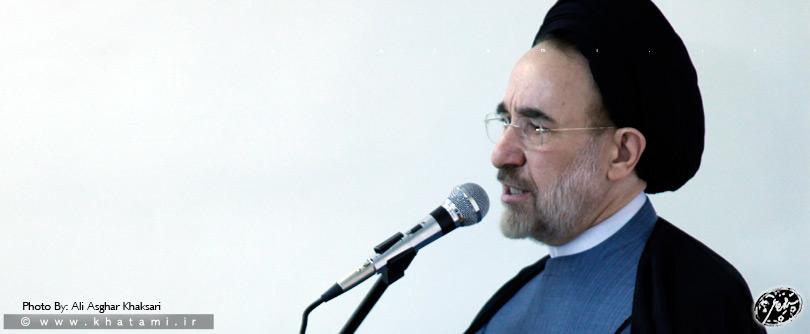 اعلام سیاستهای انتخاباتی اصلاحطلبان توسط خاتمی: حمایت از روحانی، لیست واحد شورا