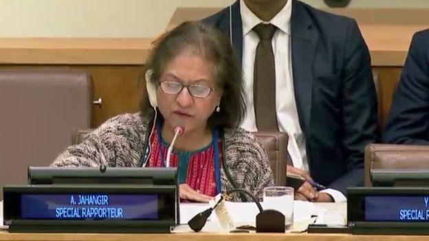 گزارش عاصمه جهانگیر از اعدام ها و نقض حقوق بشر در ایران