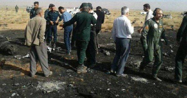 سقوط یک جنگنده سپاه در استان فارس