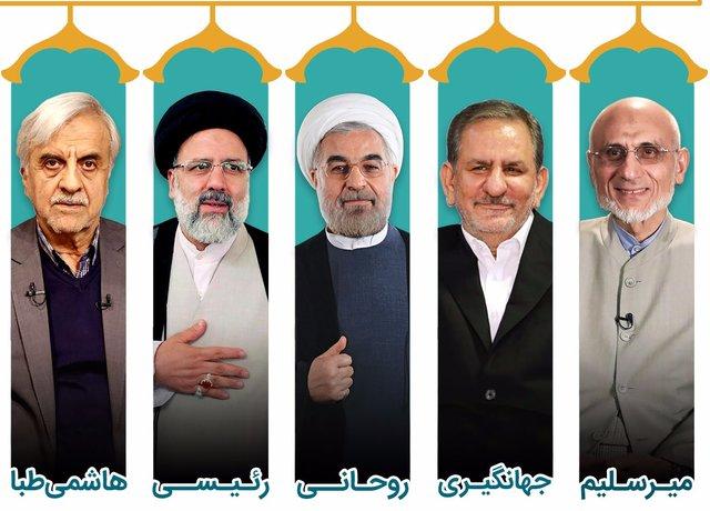 نامزدها در صداوسیما در فاصله ۴ روز مانده به انتخابات