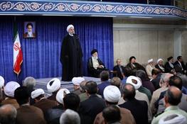 روحانی: رهبری در همه تصمیمات هادی دولت بود
