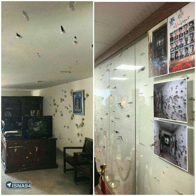جلسه کمیسیون امنیت ملی و سپاه حفاظت درباره حمله به مجلس