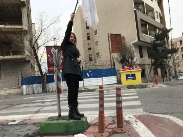 بازداشت سومین «دختر خیابان انقلاب»