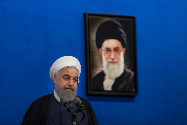 روحانی:سازنده موشکهایی که اخیرا پرتاب شد دولت و وزارت دفاع است