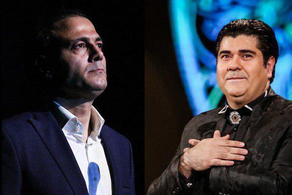 سالار عقیلی و علیرضا قربانی خوانندگان جام جهانی