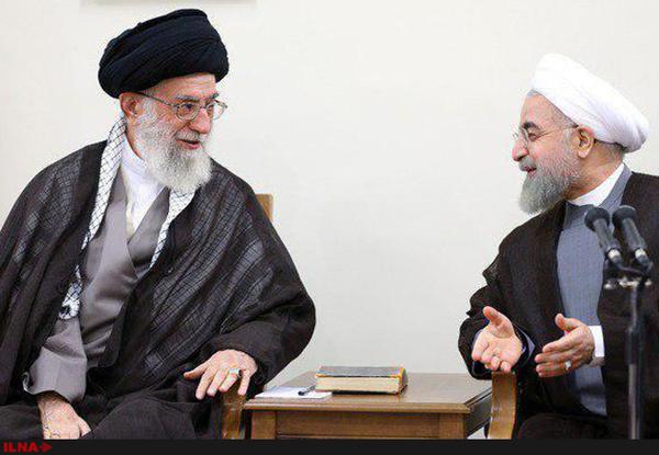 دیدار روحانی با رهبری