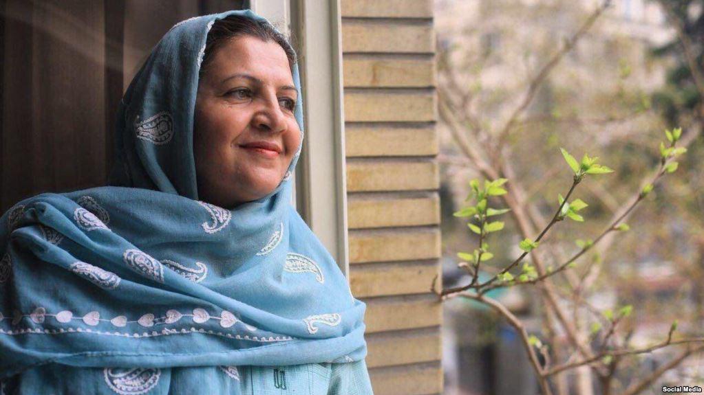 انتقال یکی از زنان دراویش به بند معتادین