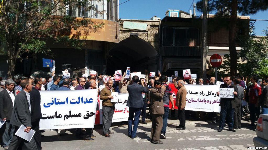 تقسیم اداره راه سمنان برای جلوگیری از اعتراض مردم