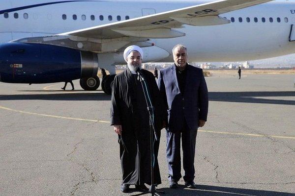 سفر روحانی به کرمانشاه برای بازدید از مناطق زلزله زده