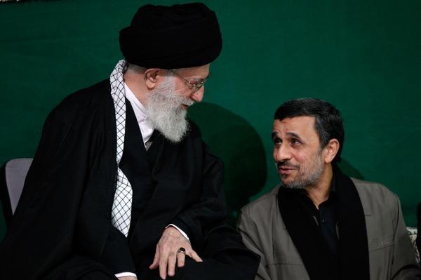 نامه احمدی نژاد به رهبر جمهوری اسلامی علیه برادران لاریجانی