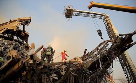 پاداش قالیباف به آتشنشانان پلاسکو: بازنشستگی پیش از موعد