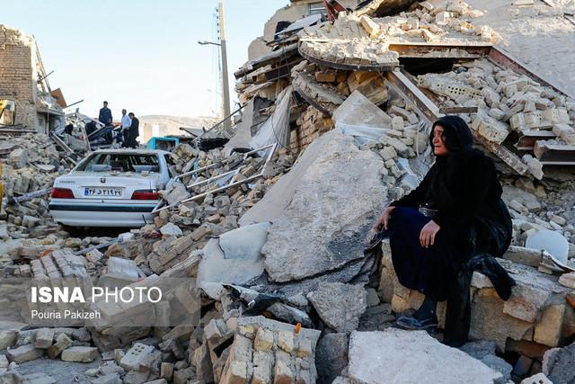 تعداد کشته های زلزله کرمانشاه به ۳۲۸ نفر رسید