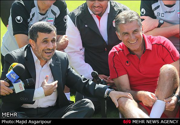 احمدینژاد به استادیوم آزادی میرود؟