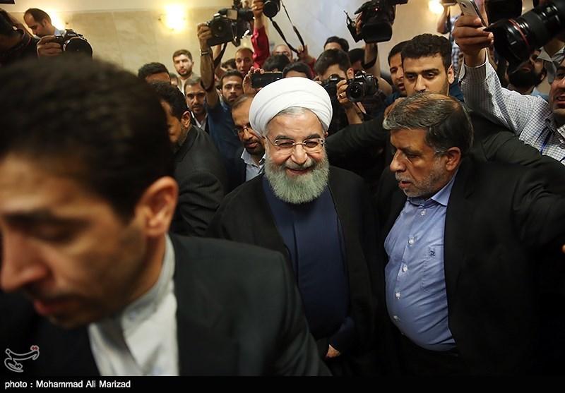 حسن روحانی رسما نامزد انتخابات شد