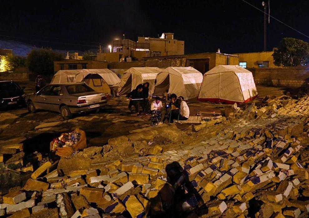 زلزله ۴.۳ ریشتری سرپل ذهاب را لرزاند