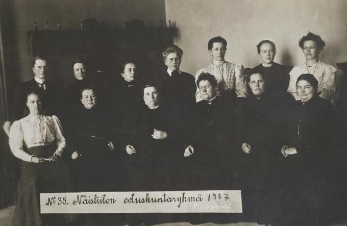 آنها ۱۹ نفر بودند؛ ۱۹ زن فنلاندی