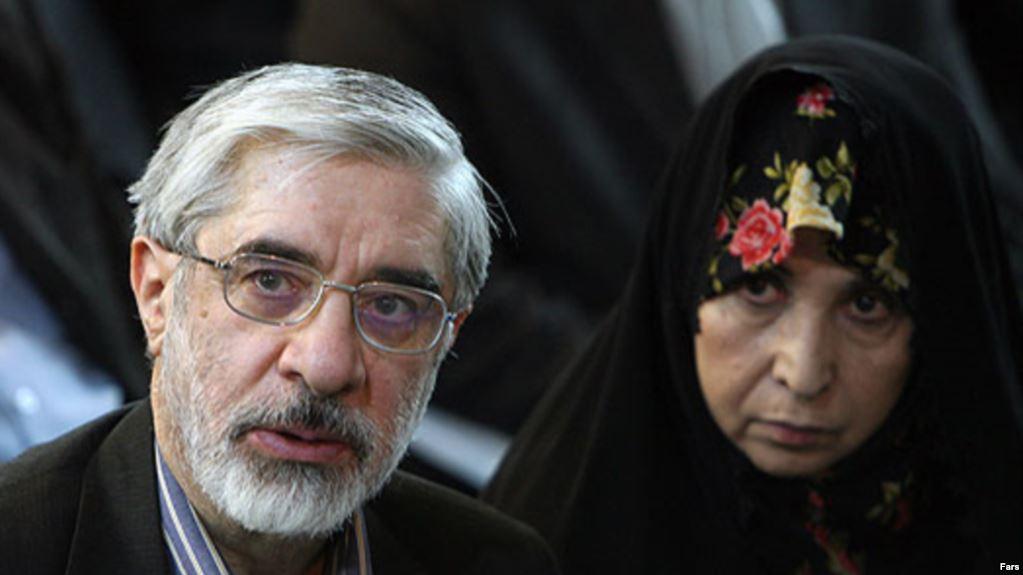 حمایت میرحسین موسوی و زهرا رهنورد از روحانی