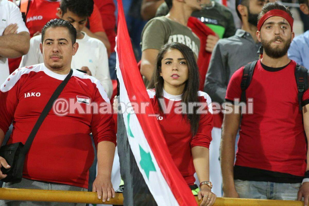 زنان سوری در ورزشگاه؛ زنان ایرانی پشت درهای آزادی!
