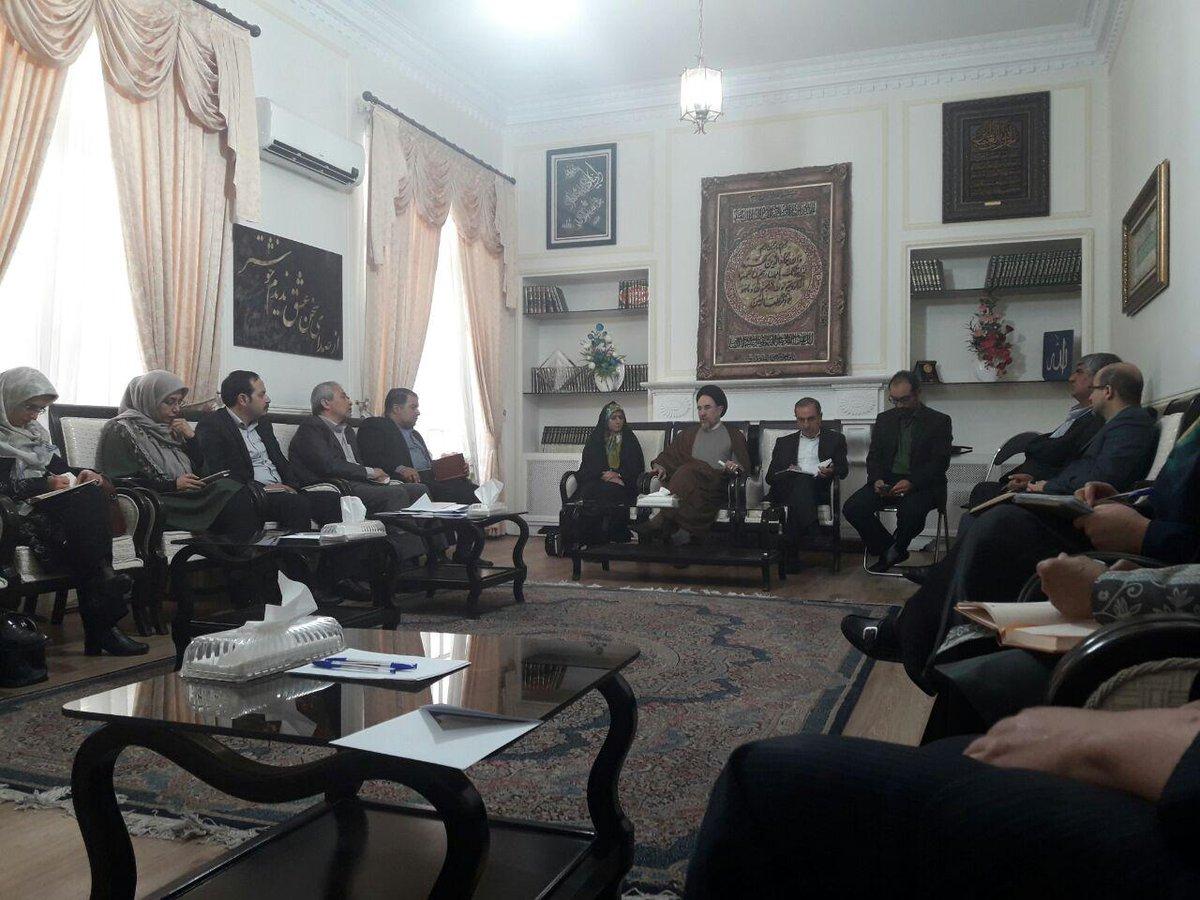 دیدار منتخبان شورای شهر تهران با خاتمی