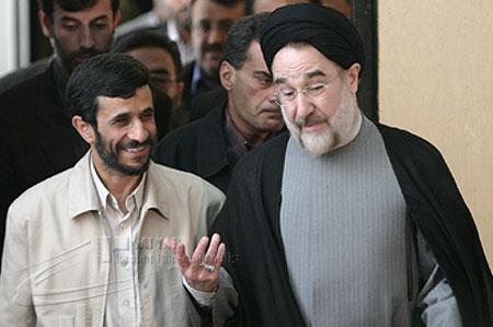 احمدی نژاد و خاتمی به مراسم تحلیف دعوت نشده اند
