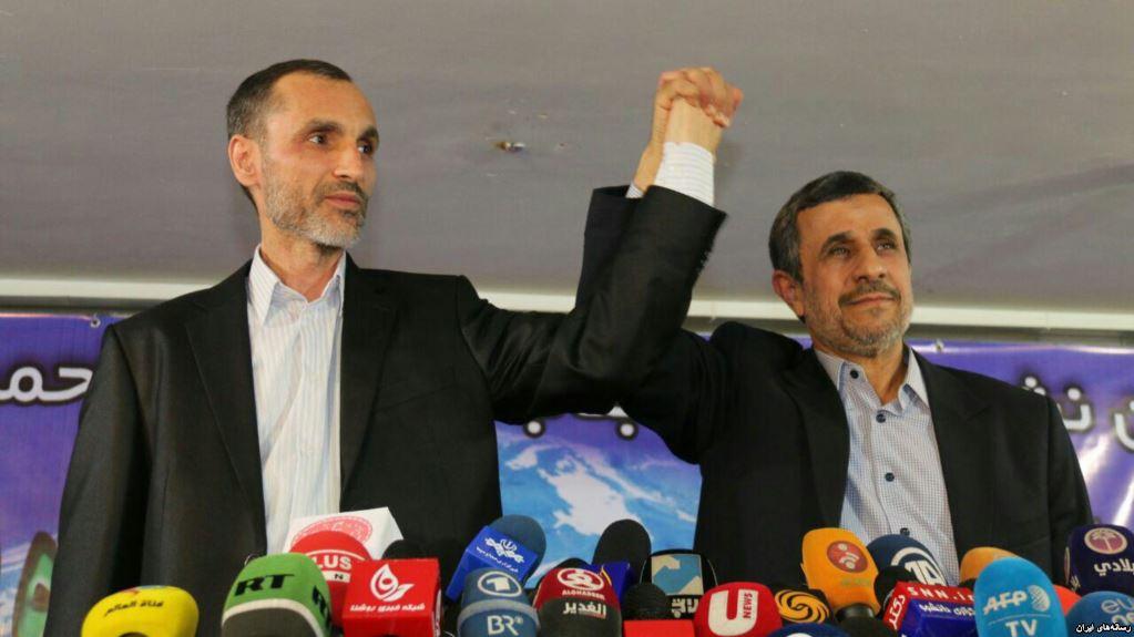 اعتراض تند احمدی نژاد به بازداشت بقایی