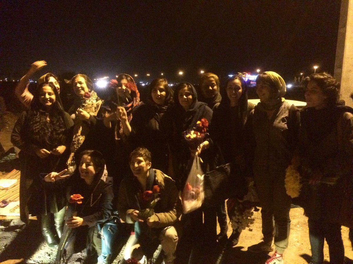 زنان تجمع ۸ مارس آزاد شدند