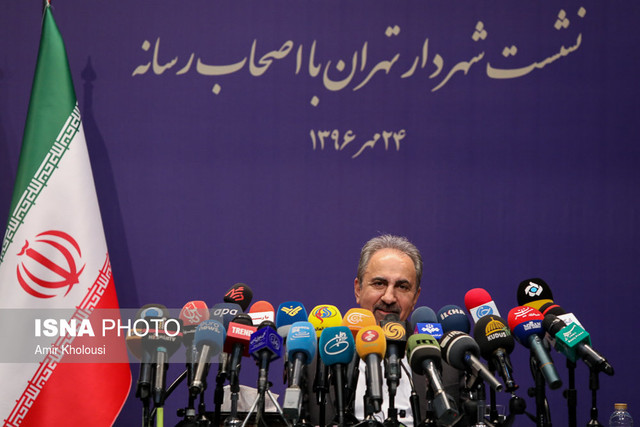 اضافه شدن شهردار تهران به فهرست ممنوع التصویرها