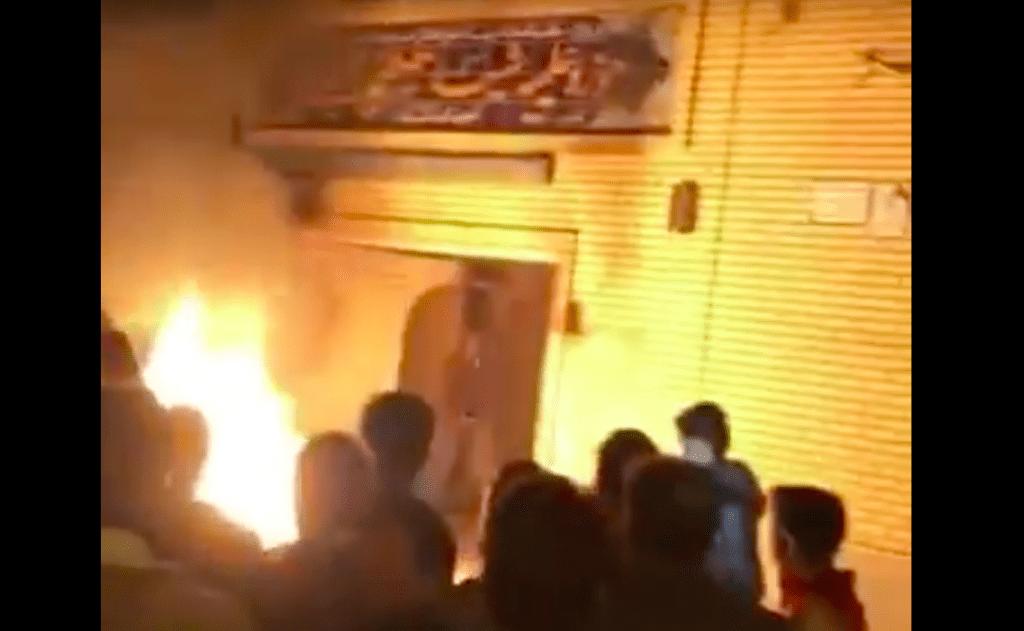 گزارشهای متنافض درباره به آتش کشیده شدن حوزه علمیه خمینی شهر