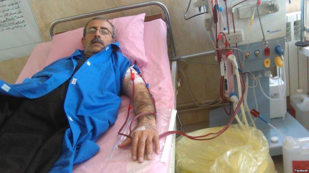 انتقال محمود صالحی از زندان به بیمارستان