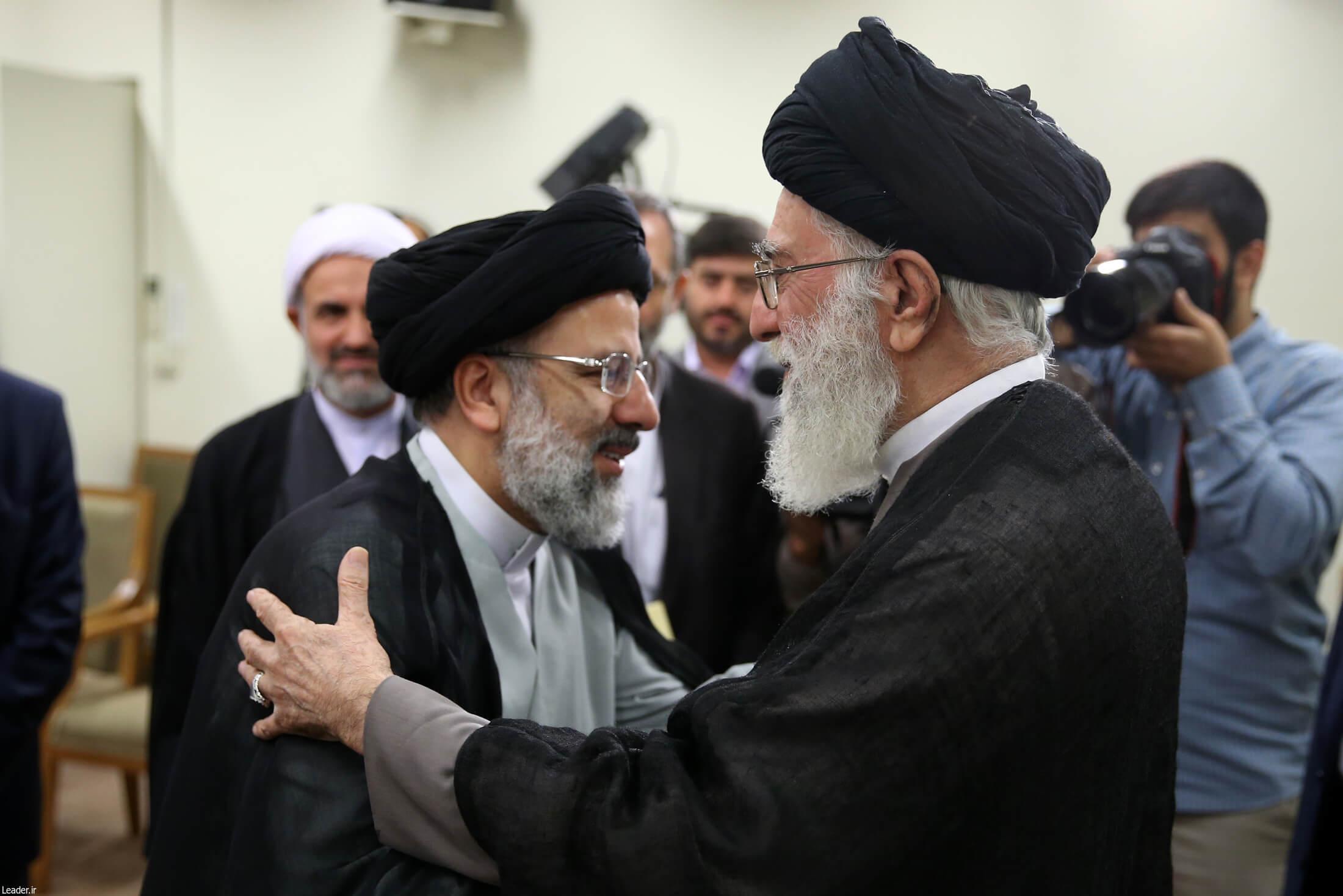دیدار ابراهیم رئیسی با رهبری