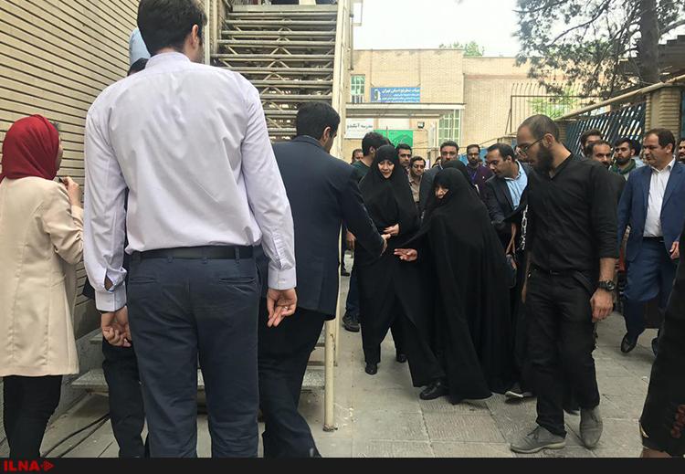 حضور عفت مرعشی در همایش ستاد جوانان روحانی