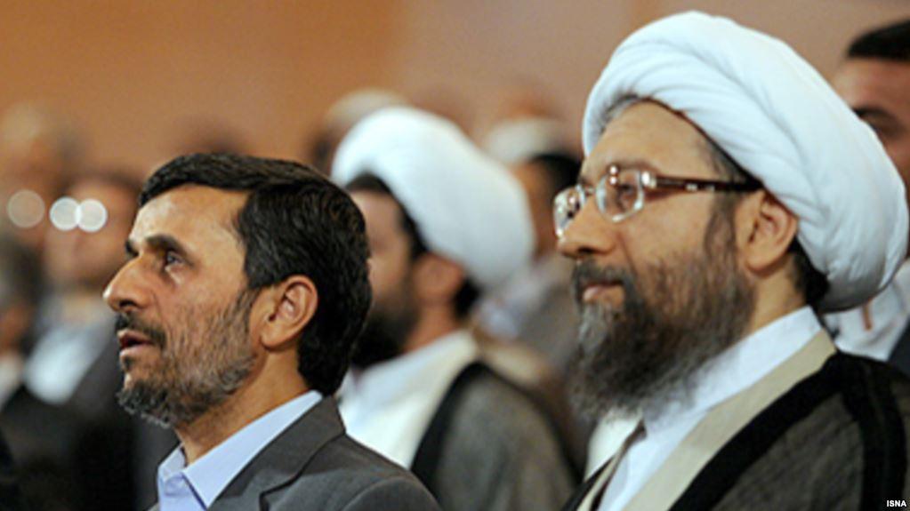 دستور لاریجانی برای پاسخ به احمدینژاد