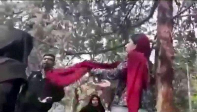 نسرین ستوده: شاهد ویدئوی گشت ارشاد بازجویی وضرب وشتم شده