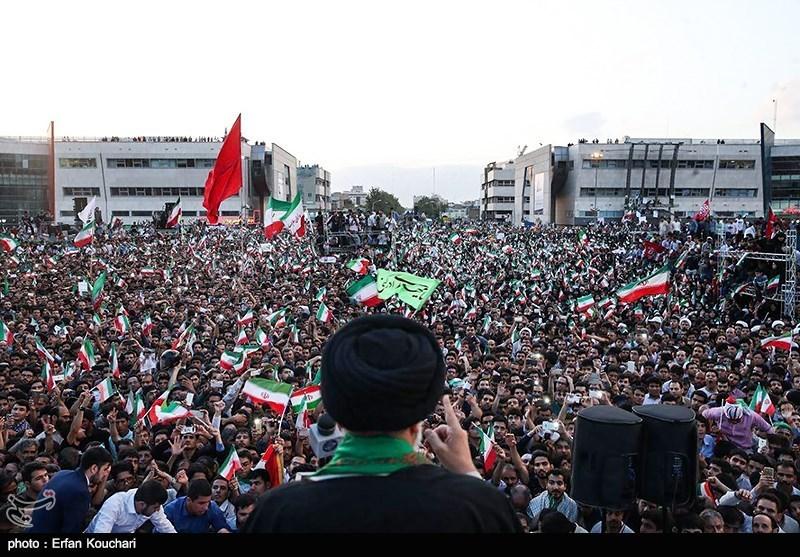 خنثی سازی اقدام خرابکارانه آخرین میتینگ انتخاباتی در مشهد