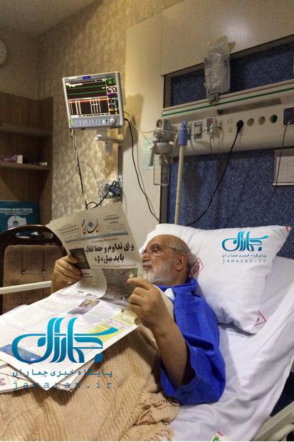 مهدی کروبی از بیمارستان مرخص شد/ نیروهای امنیتی از منزل خارج شدند