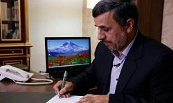 احمدی نژاد ادعای خامنه ای مبنی بر نبود زندانیان سیاسی و عقیدتی را رد کرد