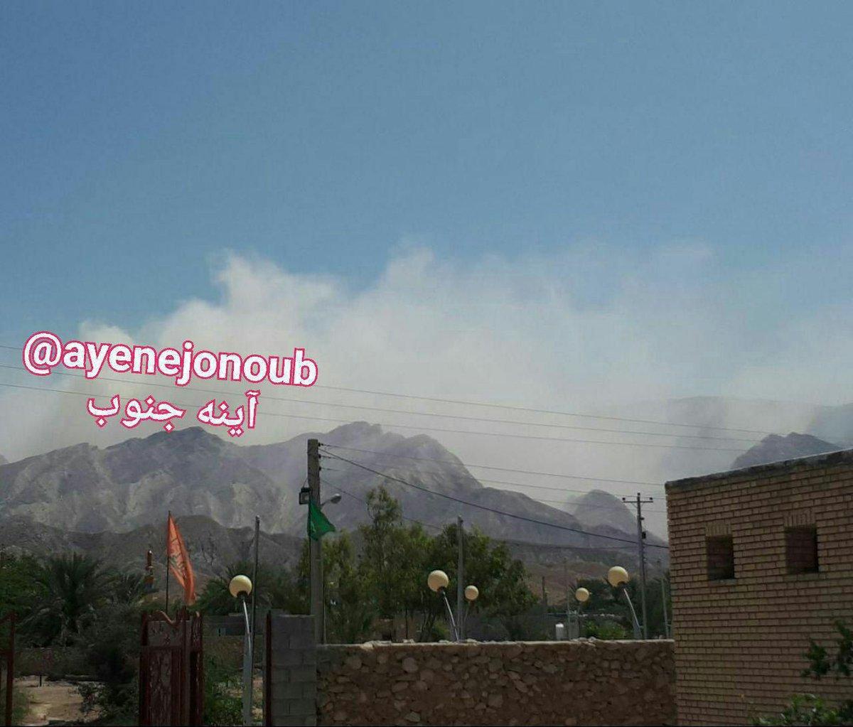 زلزله ۵.۹ ریشتری در منطقه خالی از سکنه بوشهر